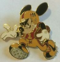 Mickey Retro Football Player Gridiron  disney pin U