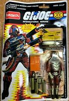 Crimson Guard Immortal GI Joe Action Figure by Funskool (ON CREASED CARDS)