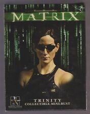 MATRIX TRINITY GENTLE GIANT COLLECTIBLE MINI BUST LIMITED EDITION  SERIES ONE
