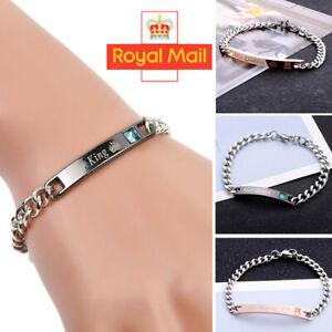 Valentines Gifts for Him/Her/Boyfriend Girlfriend Birthday Couple Lover Bracelet