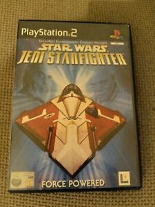 Star Wars Jedi Starfighter PlayStation 2.  Includes manual.  Good condition.