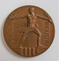 International Exposition Chicago 1933 A Century of Progress Art Deco Medallion