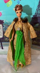 Vintage MATTEL Barbie Outfit #1645 GOLDEN GLORY BEAUTIFUL Rare