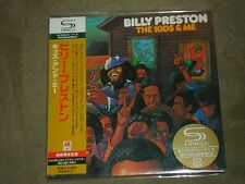 Billy Preston The Kids & Me Japan Mini LP SHM sealed