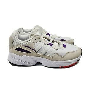adidas Originals Yung-96 Trainer Sneaker 10 Low Purple White DB2601 Mens