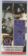 lot of 5 Roberto Clemente 3,000th Hit Commemorative Ticket LE /10,000 Pirates