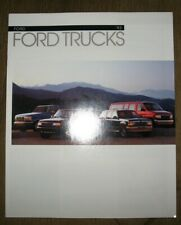 FORD 1993 Trucks catalog prospekt
