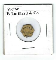 Victor Chewing Tobacco Tag P. Lorillard V142