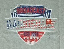 Radio Shack vintage 192 replica T shirt L gray new with tags discontinued FM