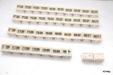 x39 - Plastron / Plaque / Cache double réseau LAN RJ45 - occasion