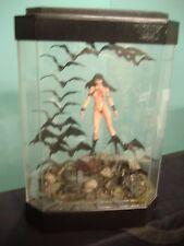 Rare Beautiful Vampirella In A Fish Tank Diorama