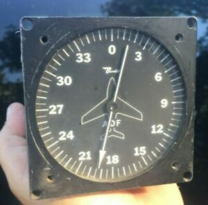 General Aviation Bendix Model 551-A ADF Servo Indicator Used, As-Removed No Tags