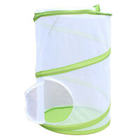 Large Butterfly Cage Insects And Habitat Cage Pvc Pet Mosquito Net Plant Cu Y1A9