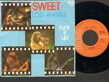 "SWEET Lost Angels 7"" SINGLE Funk It Up 1976"