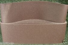 """10pc 6 """" X  48 """" inch 120 GRIT SANDING BELT butt joint sand paper made in USA"""