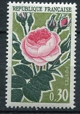 STAMP / TIMBRE FRANCE NEUF LUXE °° N° 1357 ** FLORE / ROSE