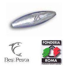Fonderia Roma 40gr 3 pezzi Piombo PERA foro passante