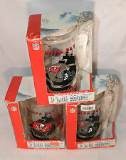 3 Tampa Bay Buccaneers Freezer Mugs with handles new in boxes