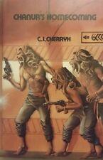 C J CHERRYH CHANUR'S HOMECOMING BK 4 SPECIAL ED HCDJ 1986 1ST ED EXTREMELY RARE