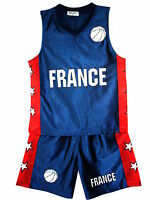 Basketball Summer Shorts Boys New Girl Top Vest Kit Set Size Age 3-14 Years Bnwt