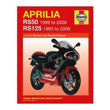 Haynes Workshop Manual / Guide Book For Aprilia RS50 And RS125 Motorcycle / Bike