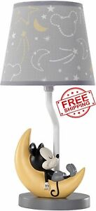 Disney Sleep Mickey Mouse Table Desk Shade Lamp Bulb Collection Vintage Children