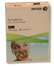 XEROX SYMPHONY A4 80GSM Coloured SALMON PAPER 50 SHEETS