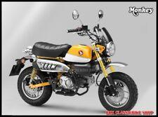 Honda Z125 Monkey 125 WINDSHIELD , METER VISOR // Brand  H2C