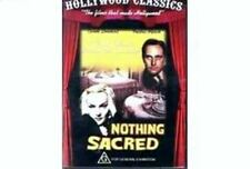 NOTHING SACRED (1937) - PAL DVD - CAROLE LOMBARD, FREDRIC MARCH NEW AND SEALED