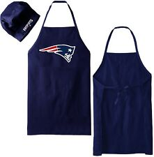 NFL NEW ENGLAND PATRIOTS COOKING APRON & CHEF HAT SET