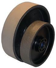 "BUTW 8"" x 2"" x 3000 grit diamond soft flex lapidary grinding wheel East"