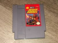 Heavy Barrel Nintendo Nes Cleaned & Tested Authentic