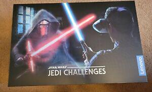 Lenovo Star Wars Jedi Challenges Lightsaber AR-756 VR Game Headset In Box