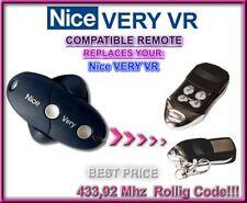 Nice VERY VR compatibile telecomando sostitutivo 433,92Mhz Rolling code