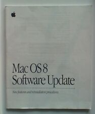 Apple Macintosh Mac OS 8 Manuale di aggiornamento software da 1997