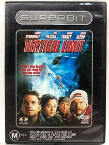 Vertical Limit - DVD - AusPost with Tracking