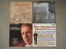 15 Mantovani albums, He's Britain's most successful album act before the Beatles