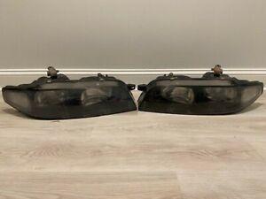 NISSAN SKYLINE R33 SKYLINE Headlight Pair Black Bezel