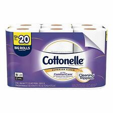 Cottonelle Ultra ComfortCare Toilet Paper, Soft Bath Tissue, Septic-Safe, 12 Big