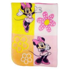 Disney Minnie Mouse Fleece Printed Baby Blanket, Pink