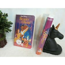 Beauty and the Beast Rare Disney Black Diamond VHS Collectible FWP Belle's
