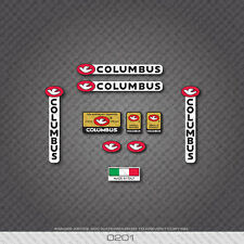 0201 Columbus Tubi Rinforzati Garantiti Bicycle Frame and Fork Stickers - Decals