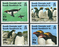 South Georgia Stamp - Macaroni penguins with Hong Kong 94 emblem Stamp - NH