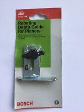 Planer rebating depth guide Bosch brand new original fits pho25-82 Swiss made