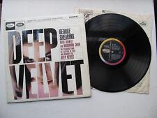 "Deep Velvet 12"" LP George Shearing Quintet Capitol T 2143 Mono UK 1964 1st"