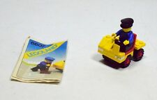 """Lego Legoland playset n.6607 """"Service Truck"""" vintage 80 collezione libretto-00F5"""