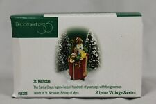 "Vintage Department 56: Alpine Village Series: ""St Nicholas"" #56.56203"