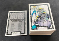 1991 MARVEL THE INCREDIBLE HULK COMPLETE (90) CARD SET PYRO/WOLVERINE/BETTY++