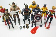 Marvel Legends Lot 6? Hercules Captain America Wasp Black Knight Sentry Hellcat