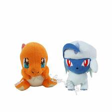 2pcs Pokemon Mega Absol & Charmander Plush Doll Figure Stuffed Animal Toy Gift